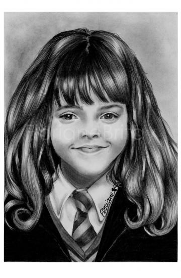 Emma Watson por FloBrit
